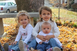 Phillip and I have many blessings in our lives, but none compare to these three.